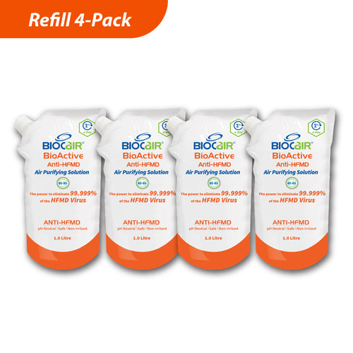 4-in-1 BioActive Anti-HFMD Air Purifying Solution