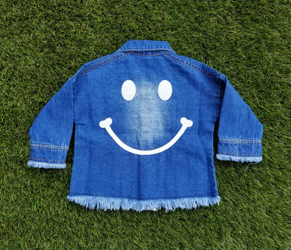 SURI SMILE DENIM JACKET