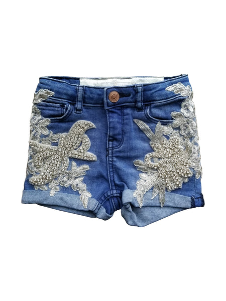 DEMI DIAMOND SHORTS (3T)