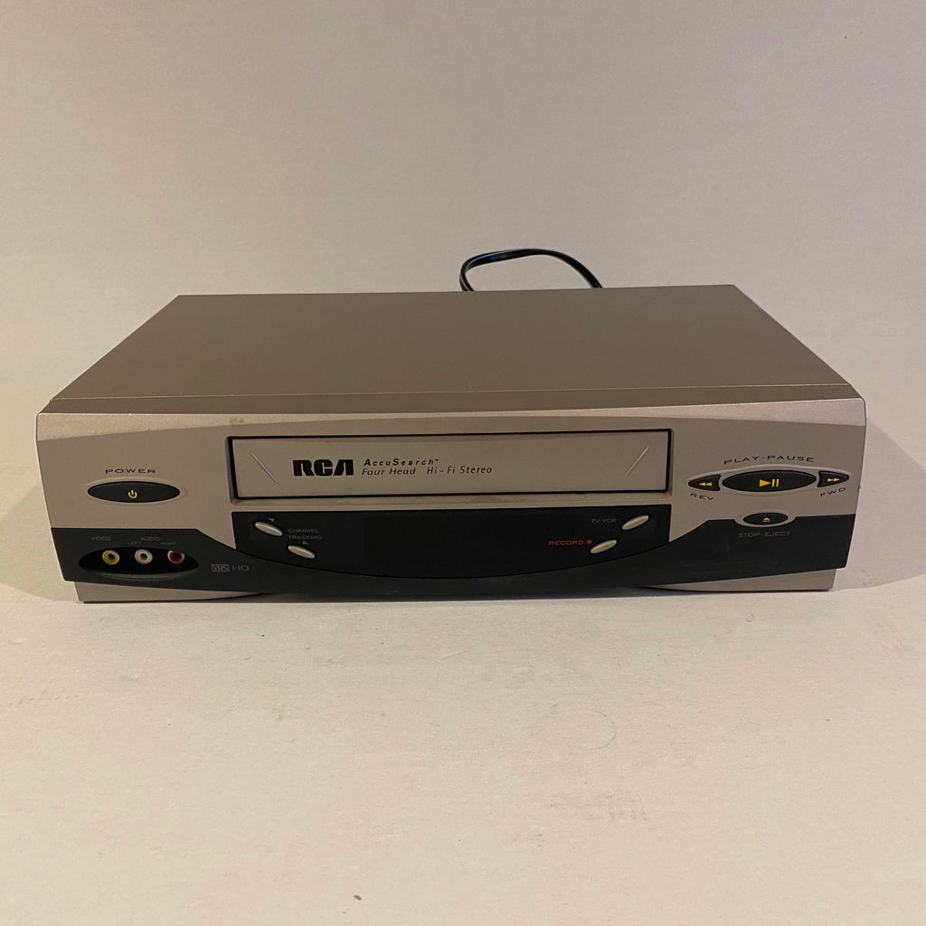 JVC AccuSearch 4 Head Hi-Fi Stereo VCR
