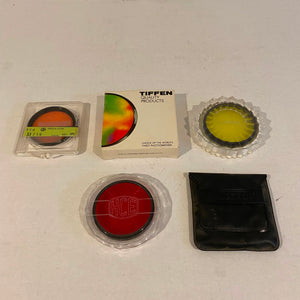 Lot of Assorted Tiffen and HCE 58mm Lens Filters
