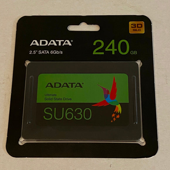 ADATA SU630 240 GB SSD - Pre-loaded with fresh install of Mac OS Catalina