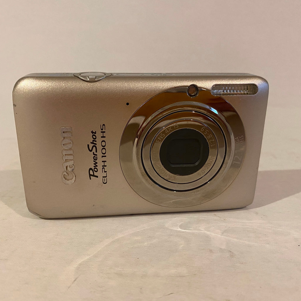 Canon PowerShot 12 MP CMOS Digital Camera with 4X Optical Zoom - ELPH 100 HS