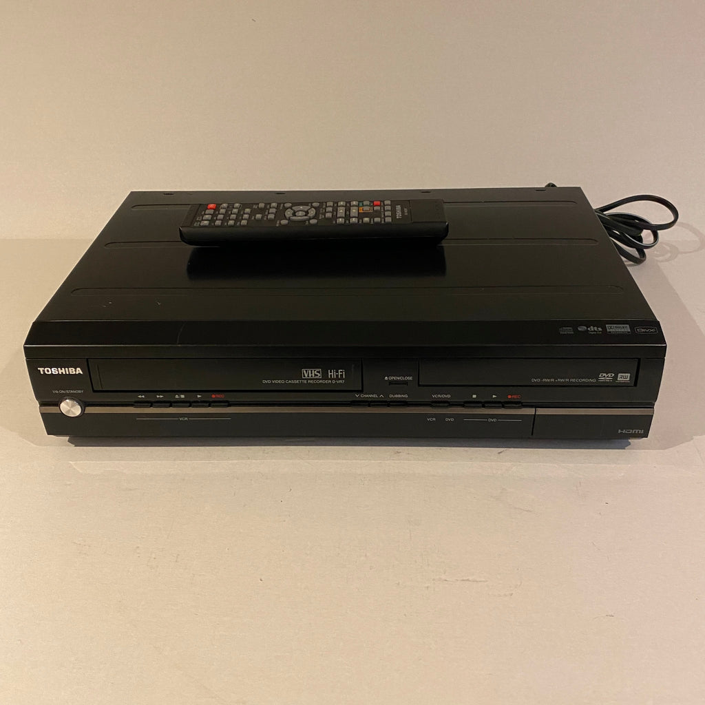 Toshiba Hi-Fi VCR & DVD Recorder with Remote - D-VR7