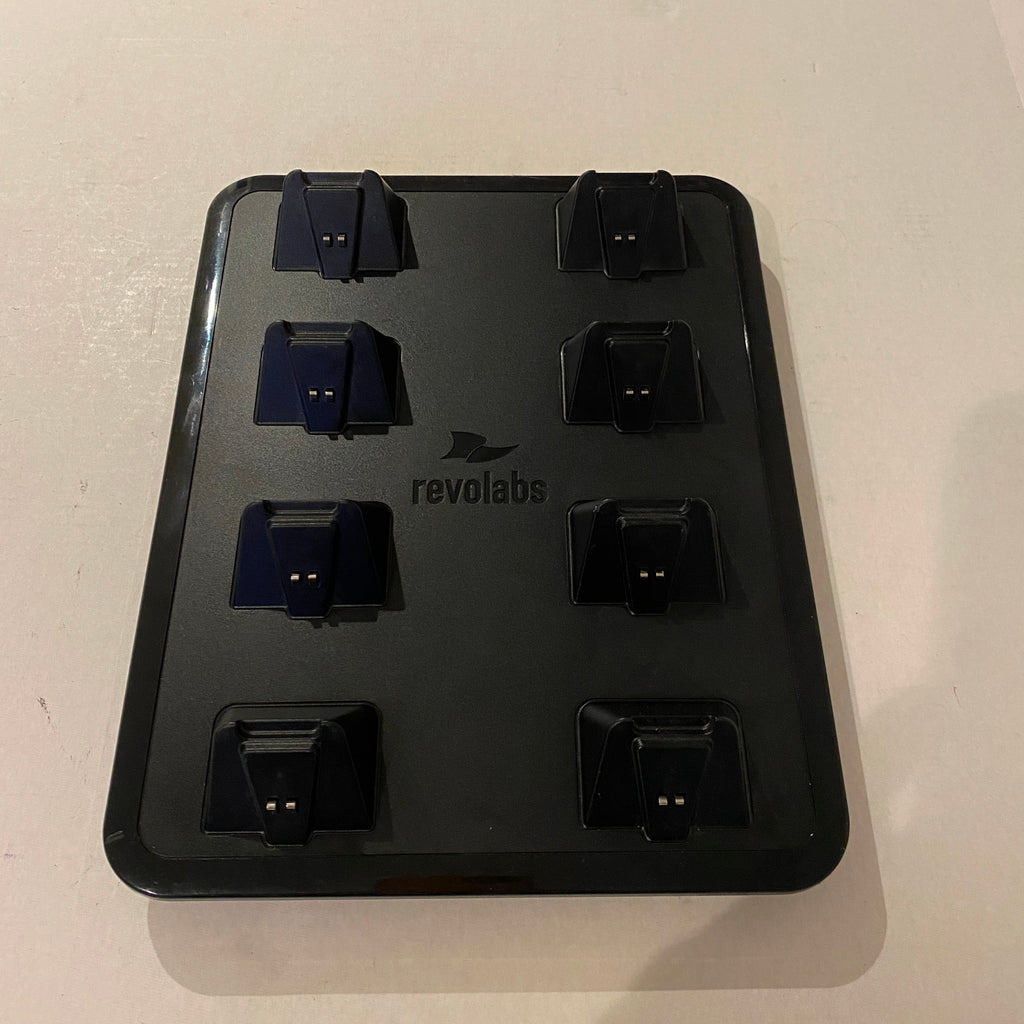 Revolabs Charging Tray for 8 Executive Elite Microphones - 0208ELITECHG