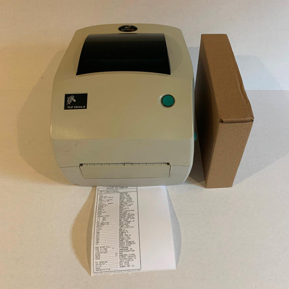 Zebra TLP 2844-Z USB Parallel Thermal Label Printer