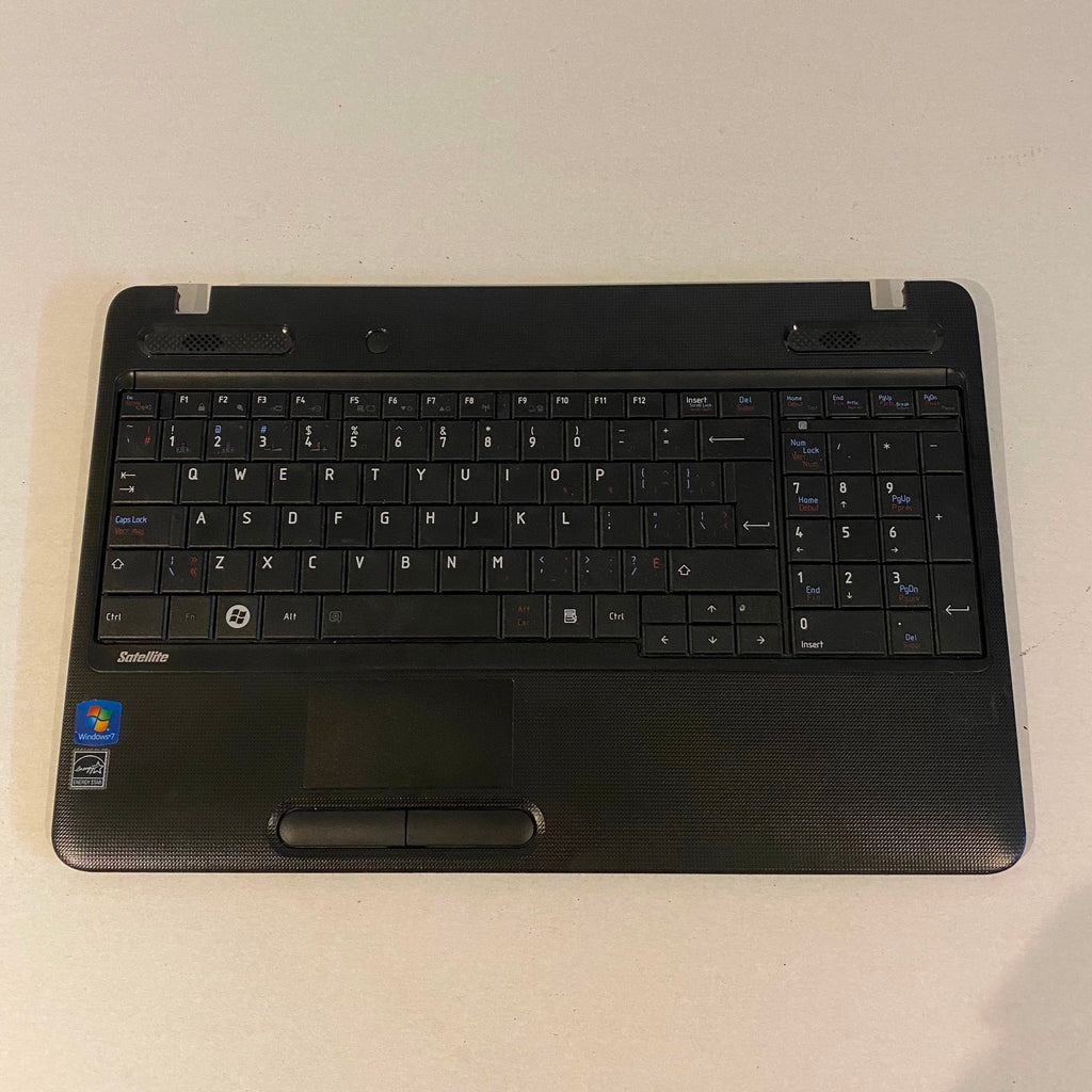 Toshiba Satellite C650D Keyboard and Palm Rest