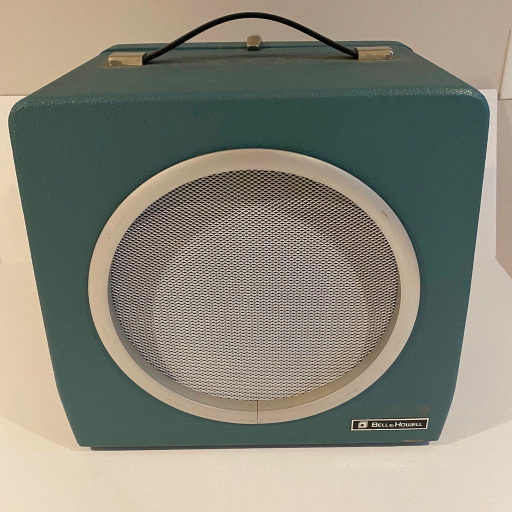 Rare Vintage Bell and Howell Auxiliary Speaker