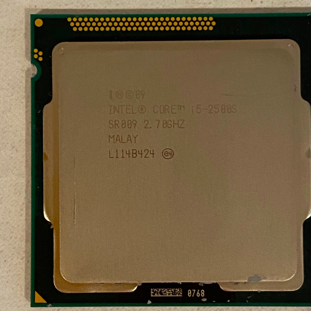 Intel Core i5-2500S SR009 2.7 Ghz Processor