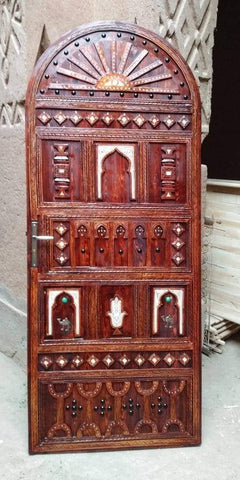 Carved Moroccan door