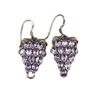 Bunch Of Grapes Moroccan Silver Earrings
