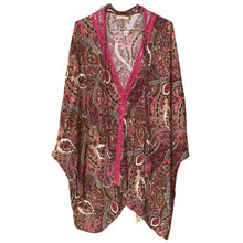 Load image into Gallery viewer, Classic Morocco Long Sleeve Women's Tunic, Free Size (S-L) - Eve Branson Foundation Collection Clothing & Shoes