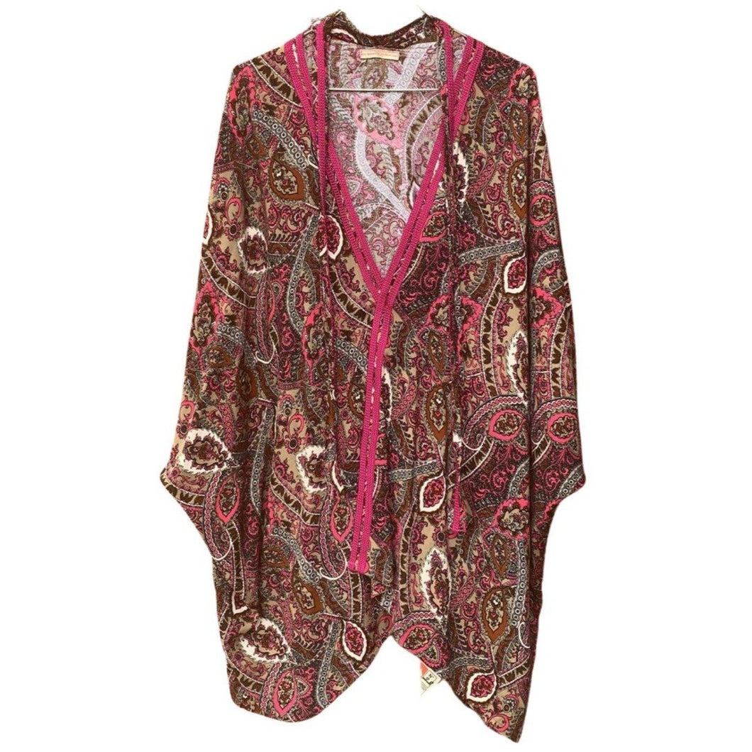 Classic Morocco Long Sleeve Women's Tunic, Free Size (S-L) - Eve Branson Foundation Collection Clothing & Shoes