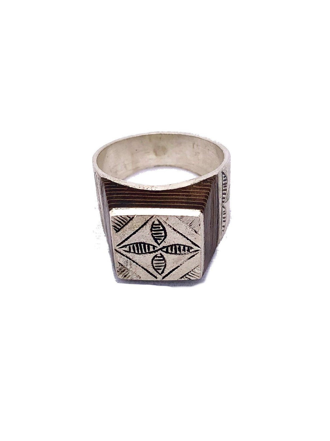 Men's Silver Tuareg Ring Rings