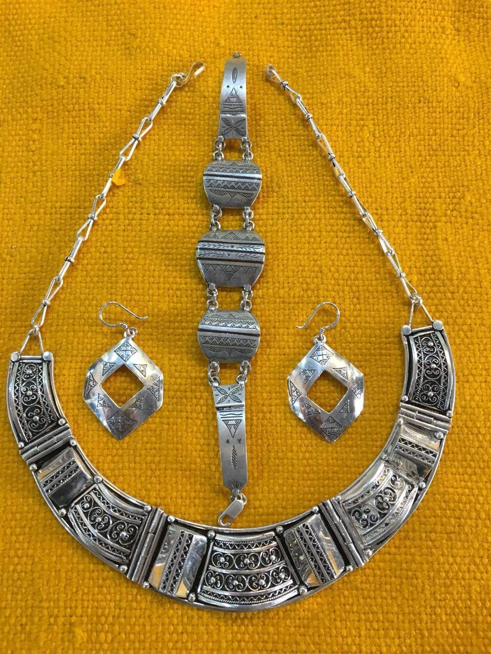 Modern Berber Jewelry Set Special Order