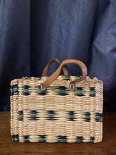 Load image into Gallery viewer, Moroccan Berber Bag - Woven Reed Basket Purse Bags & Purses