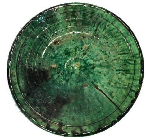 Moroccan Green Tamegroute Pottery - 12