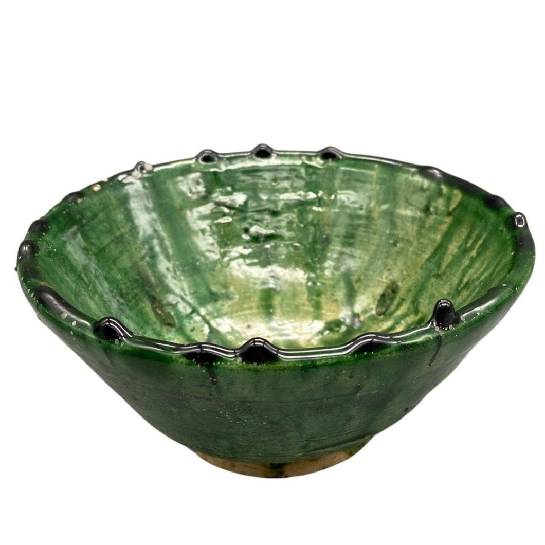 Moroccan Green Tamegroute Pottery - 6