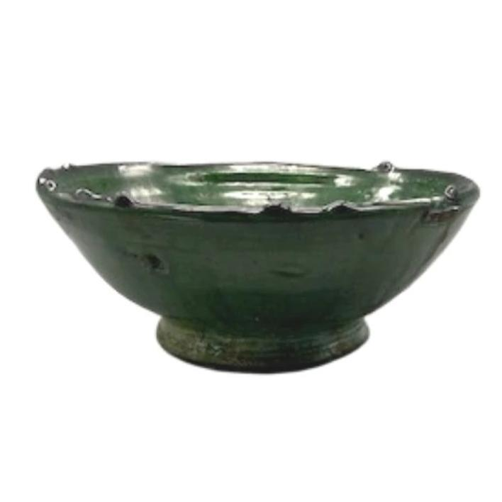 Moroccan Green Tamegroute Pottery - 7