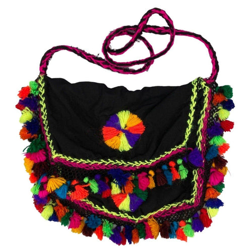 Moroccan Handmade Purse with Tassels Bags & Purses