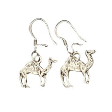 Load image into Gallery viewer, Silver Camel Moroccan Earrings Earrings