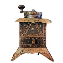 Load image into Gallery viewer, Vintage Moroccan Hand Crank Coffee Grinder Home Decor