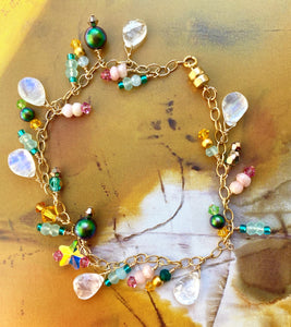 Moonbeam Charm Charm Bracelet