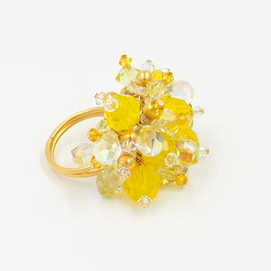 Lemon Drop Cocktail Ring