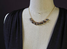 Fringe Necklace in Chrome