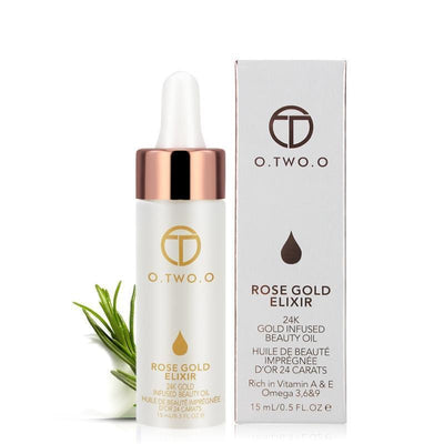 24K Rose Gold Beauty Elixir Makeup Oil - Coloxor
