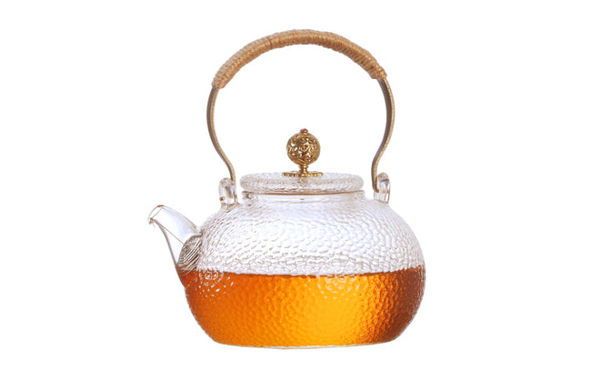 Teapot With Copper Handle