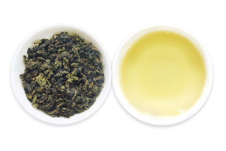 One of the best Chinese loose leaf Oolong teas called Tieguanyin offered by an online Chinese tea provider, Teadaw