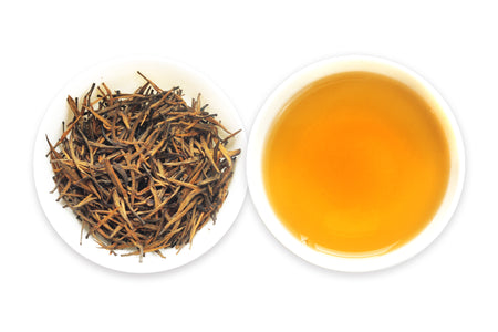 One of the best Chinese Loose Leaf Black Tea called Golden Wool offered by an online Chinese tea provider, Teadaw