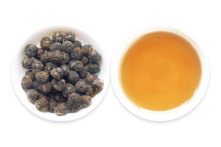 buy Chinese Black Tea -- Dragon Pearl online