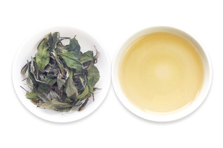 One of the best Chinese Loose Leaf White teas called White Peony offered by an online Chinese tea provider, Teadaw