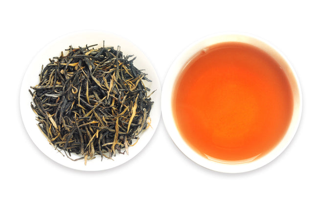 One of the best Chinese Black teas called Red Needle offered by an online Chinese tea provider, Teadaw