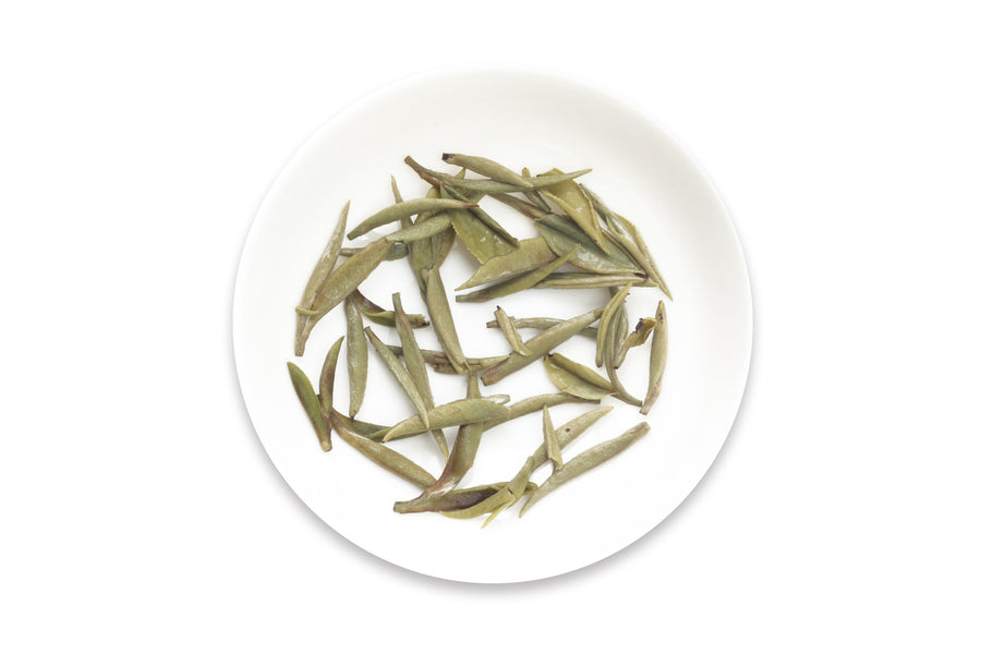 One of the best Chinese White teas called Silver Needle offered by an online Chinese tea provider, Teadaw