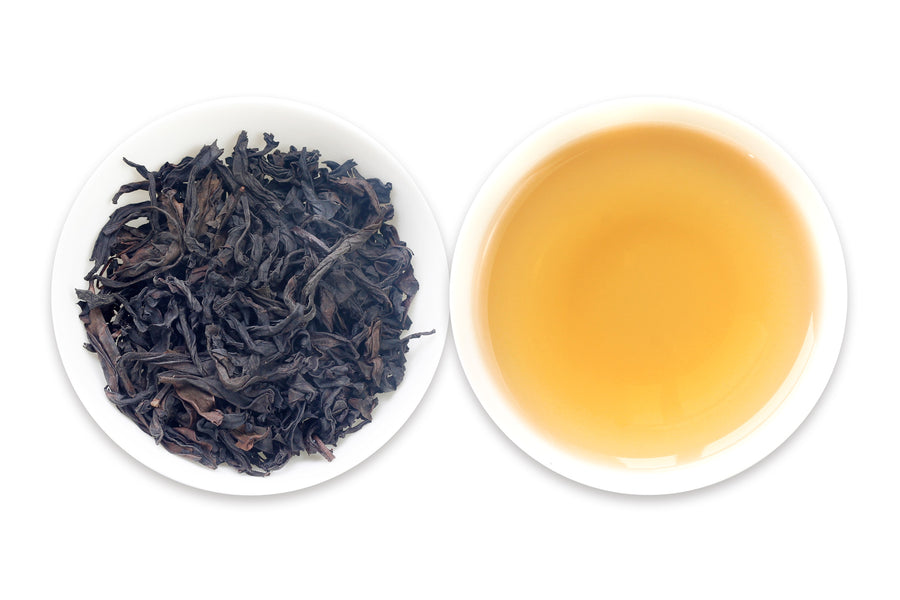 "100% organic Chinese oolong tea ""Cinnamon"" from teadaw.com, the leading online Chinese tea provider."