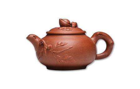 Purple sand clay teapot