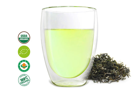 One of the best Chinese green teas named Emerald offered by an online Chinese tea provider, Teadaw