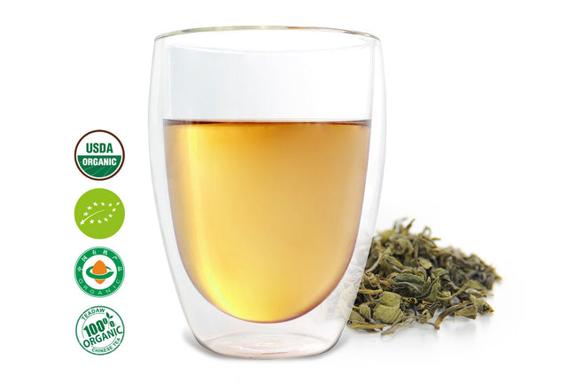 buy Chinese Yellow Green Tea - Flower Field online