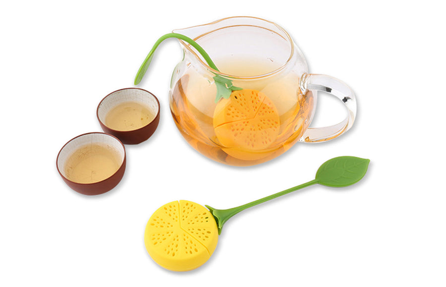Lemon Silicone Tea Infuser Strainer