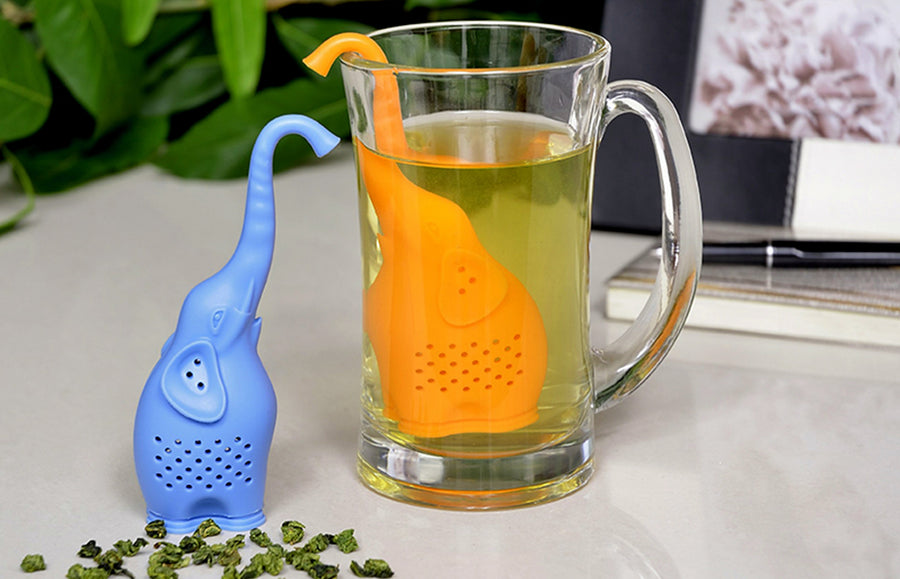 buy Chinese Big Brew Elephant Silicone Tea Infuser online