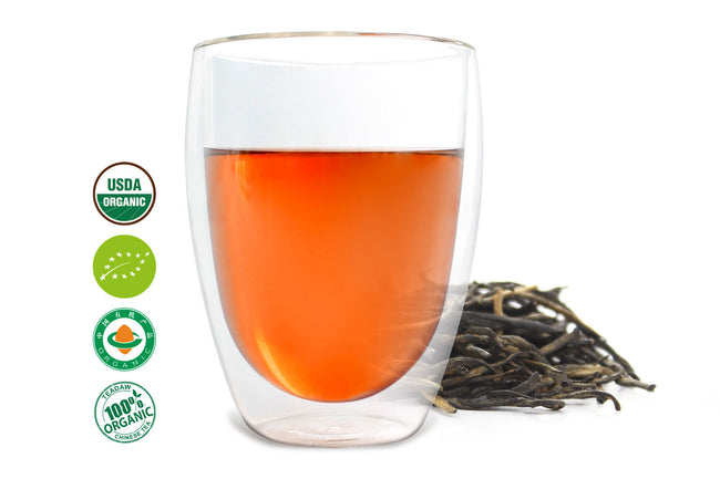 A kind of Chinese black tea called Red Needle provided by an online Chinese tea trader, Teadaw