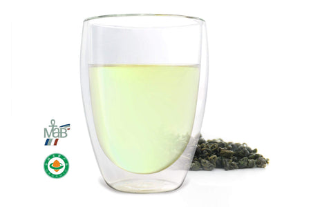 One of the best Chinese green teas named Green Pearl offered by an online Chinese tea provider, Teadaw