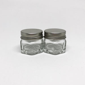 J004 20g Hexa GlassJar (Pack of 2)