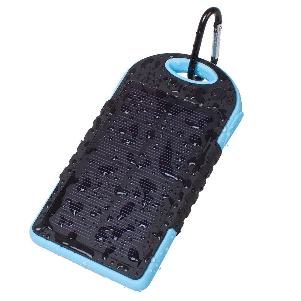 Shockproof Waterproof Solar  Power Bank,PowerBank - iGadgetfied