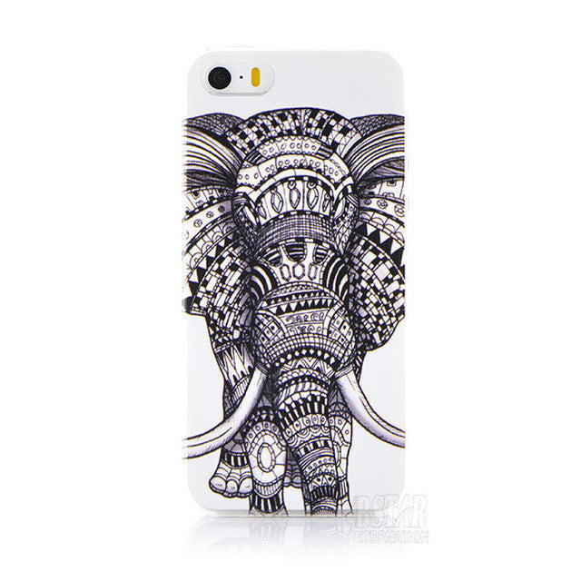 Phone Case with Cartoon Animals For Iphone 5 / 5S / SE,Case - iGadgetfied