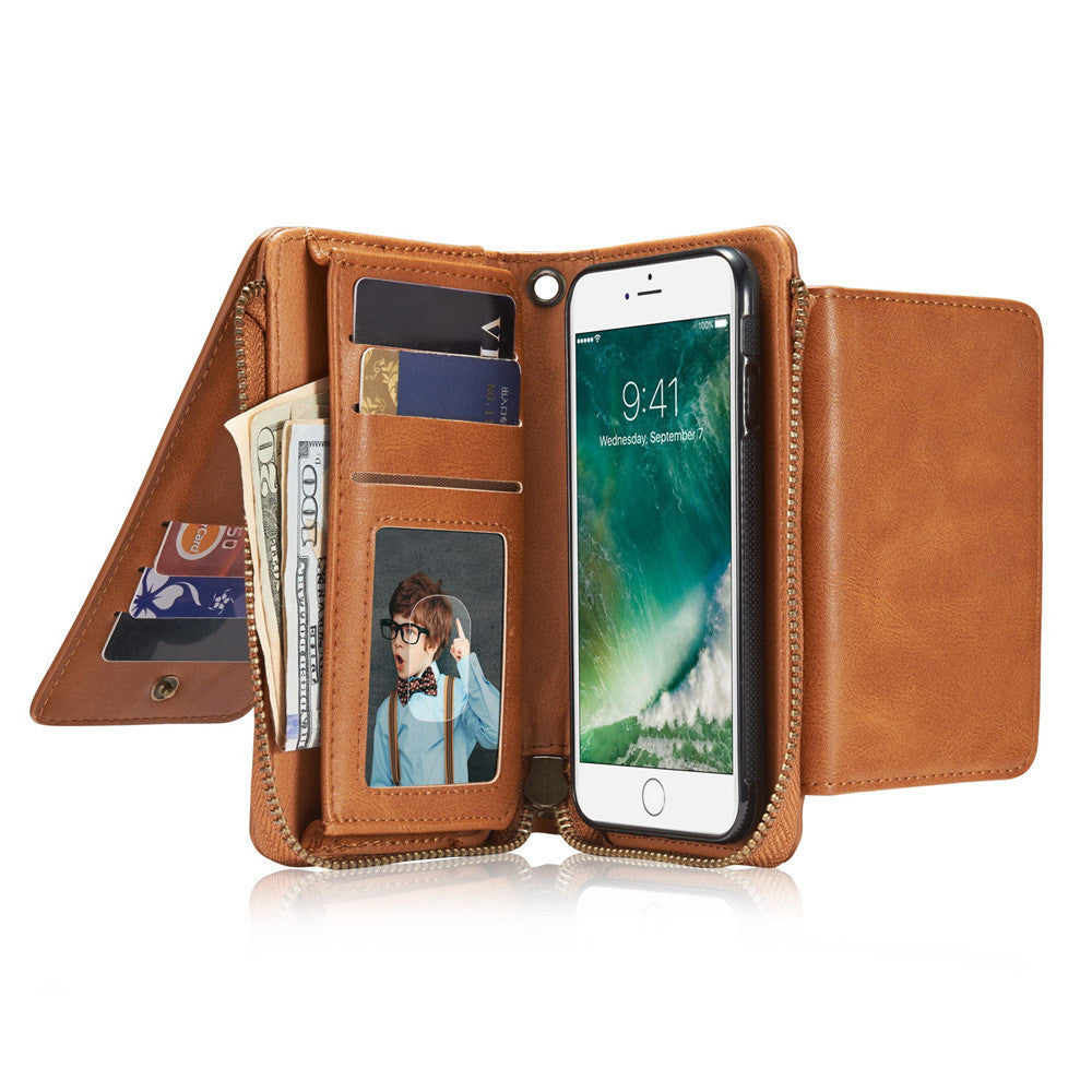 Multifunction Wallet Cover For iPhone 7 7 Plus,Case - iGadgetfied