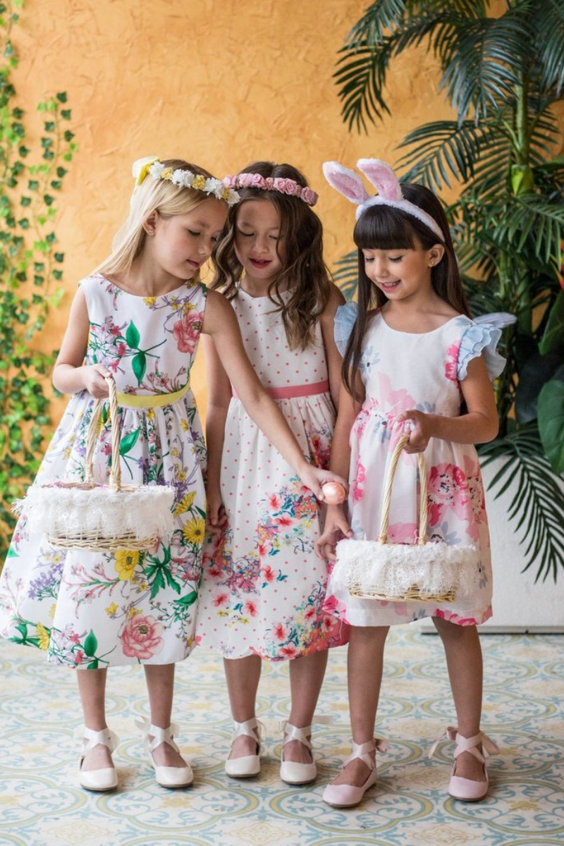 Girls Easter Dress Fashion & Family Fun Activity Guide